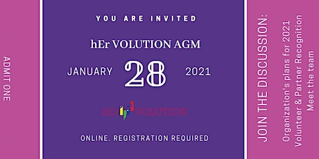 hEr VOLUTION #Impact2020 AGM tickets