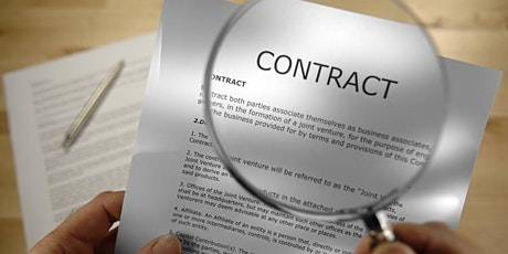 Legal Contract & Agreement Fundamentals to Avoid Disputes and Law Suits tickets