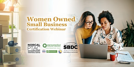 Women Owned Small Business Certification tickets