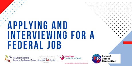 Applying and Interviewing for a Federal Job **Online Workshop** tickets