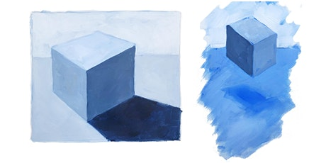 Box Basics!  How to Paint a 3D Form in Acrylic (for beginners) tickets