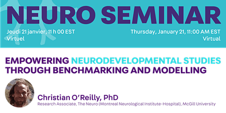 Special Seminar: Empowering Neurodevelopmental Studies Through Benchmarking tickets