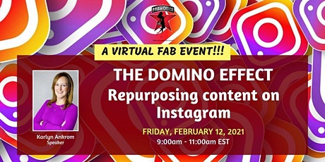 The Domino Effect: Repurposing Content on Instagram tickets
