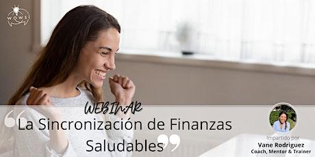 La sincronización de Finanzas Saludables entradas