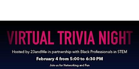 23andMe  & BPS Virtual Trivia Night tickets
