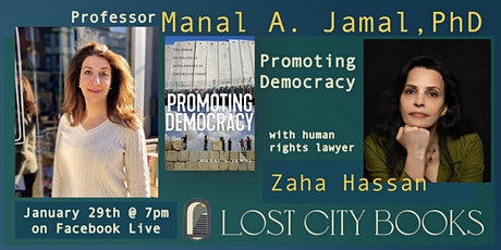 Promoting Democracy with Dr. Manal A. Jamal and Zaha Hassan tickets