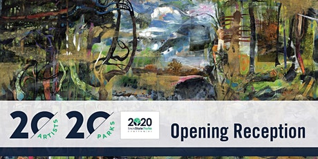 20 Artists, 20 Parks Virtual Opening Reception tickets
