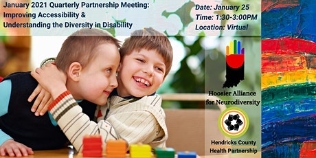 2021 Quarterly Partnership Meeting- Accessibility and Disability Diversity tickets