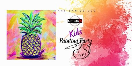 Kids|Painting Party|Wadena Studio|Beginners tickets