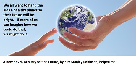 To reverse global warming, first we have to imagine how we could do it. tickets