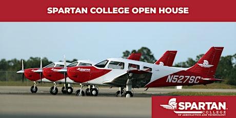 Spartan College - Tulsa Flight Open House 1-16-20 tickets