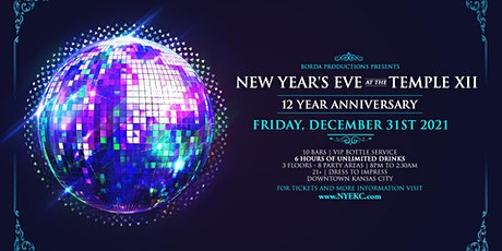 NYE 2022 at The Temple XI – Kansas City New Year's Eve 2021-2022 tickets