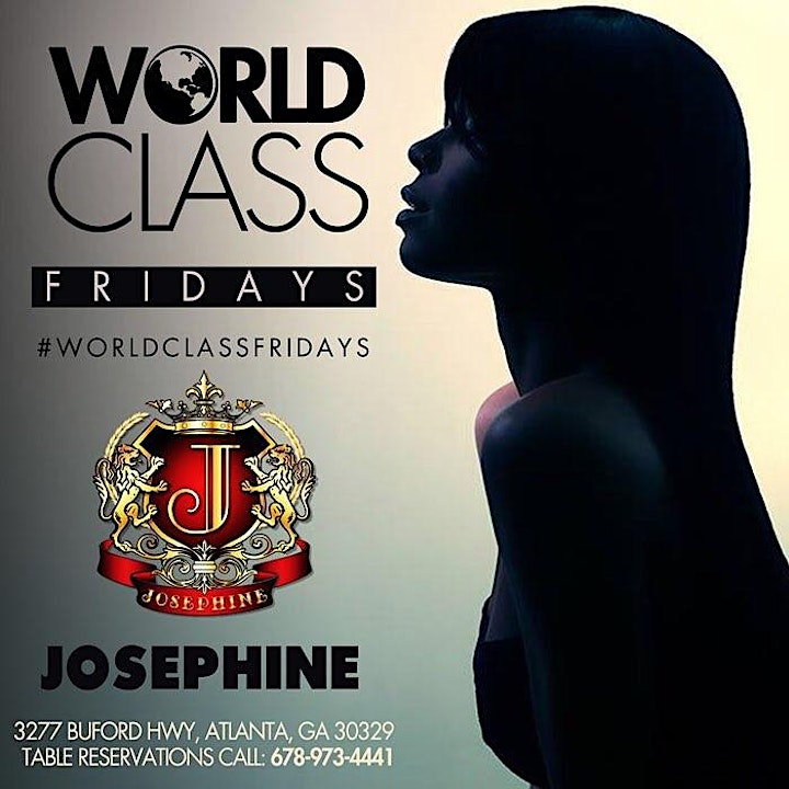 World Class Friday @ Josephine Lounge - Atlanta GA image