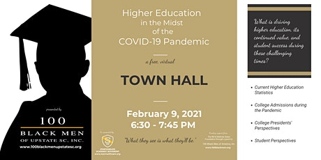 TOWN HALL:  Higher Ed in the Midst of the Covid-19 Pandemic - Status Update tickets