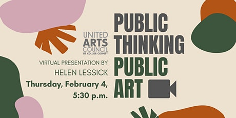 Public Thinking Public Art with Helen Lessick tickets