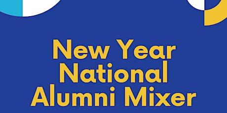 New Year National Alumni Mixer billets