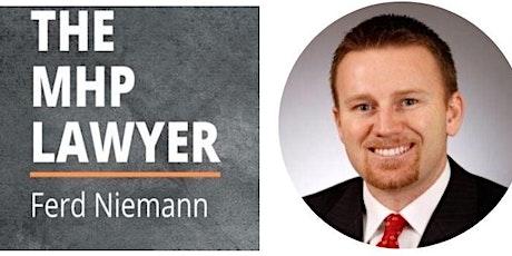 "Meet up with Ferd E. Niemann ""How to structure MHP Deals & Partnerships"" tickets"