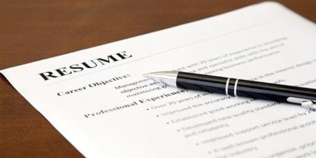 Resume Workshop - Employer Perspective tickets