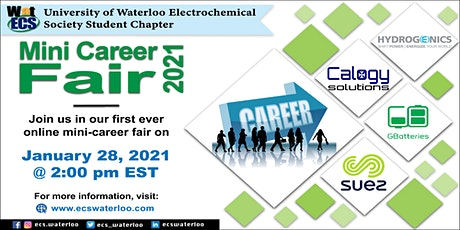 WatECS Mini Career fair tickets
