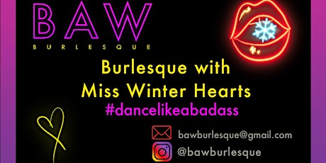 Burlesque with Miss Winter Hearts tickets