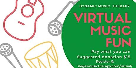 Virtual Music Fun - KIDS tickets