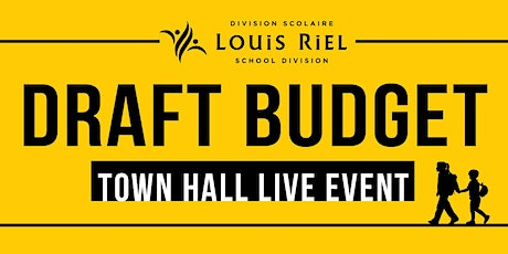 Draft Budget Town Hall Live Event tickets