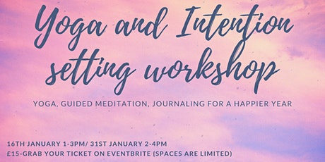 Yoga and Intention setting workshop for 2021 tickets