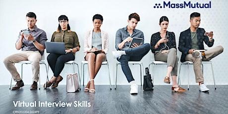 Virtual Interview Skills tickets