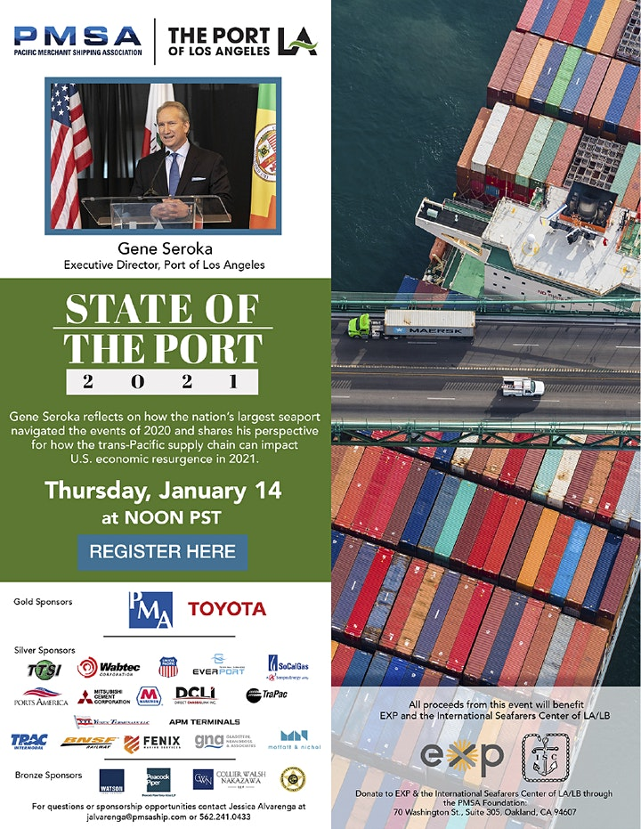 2021 State of the Port of Los Angeles image