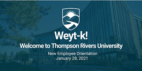 New Employee Orientation (Thompson Rivers University) tickets
