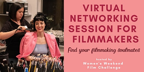 Virtual networking for filmmakers: Find your filmmaking soulmates! tickets