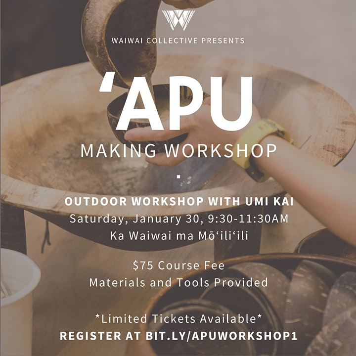 Outdoor ʻApu Making Workshop image