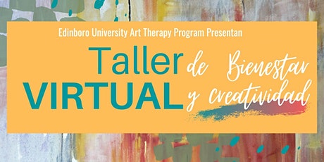 Taller Virtual de Bienestar y Creatividad boletos