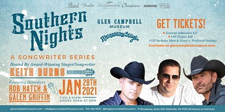 Southern Nights: A Songwriter Series at The Glen Campbell Museum tickets
