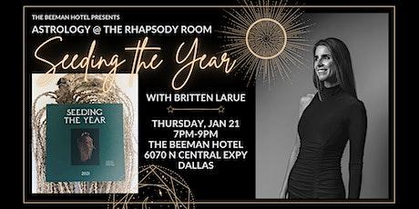 Astrology @ The Rhapsody Room: Seeding the Year with Britten La Rue tickets
