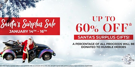 Santa Surplus Sale to Benefit the Humble Heroes tickets