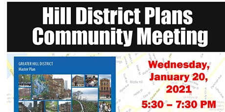 January 2021 Bi-Monthly Hill District Plans Community Meeting tickets