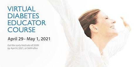 Virtual Diabetes Educator Course tickets