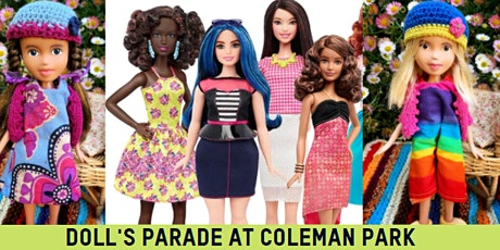Dolls Parade at Coleman Park with Korumburra Library tickets