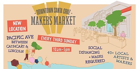 Downtown Santa Cruz Makers Market tickets
