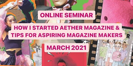 HOW I STARTED AETHER MAGAZINE & TIPS FOR ASPIRING MAGAZINE MAKERS biglietti