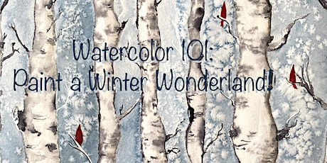 Watercolor 101: You can Paint a Winter Wonderland tickets