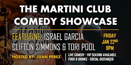 Martini Club Comedy Showcase tickets