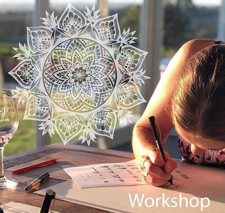 Mandala workshop with Cathy Gray image