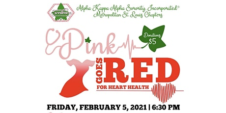 Pink Goes Red hosted by Metro STL -AKA Sorority Inc./Move by BJC tickets