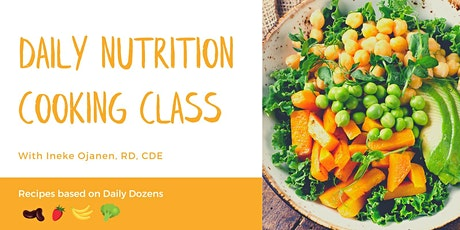 Daily Nutrition Cooking Class Online tickets