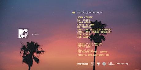 Australian Royalty At Riva St Kilda tickets