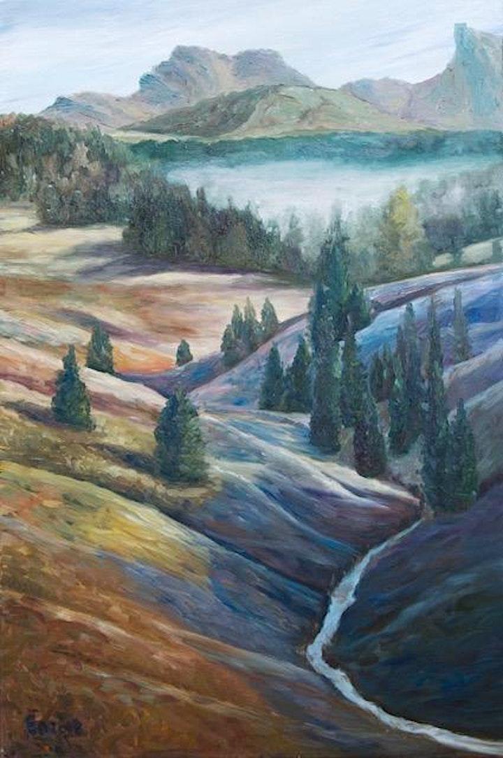 Landscape in Pastel Art Class image