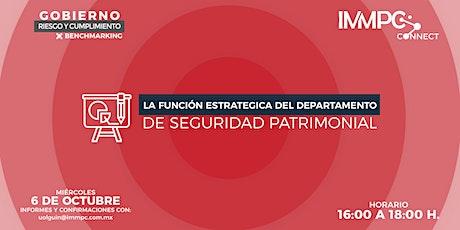 BENCHMARKING: GOBIERNO, RIESGO Y CUMPLIMIENTO tickets