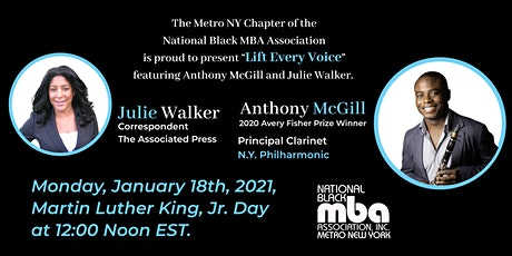 "The NYBMBA Presents ""Lift Every Voice"" Featuring Anthony McGill tickets"